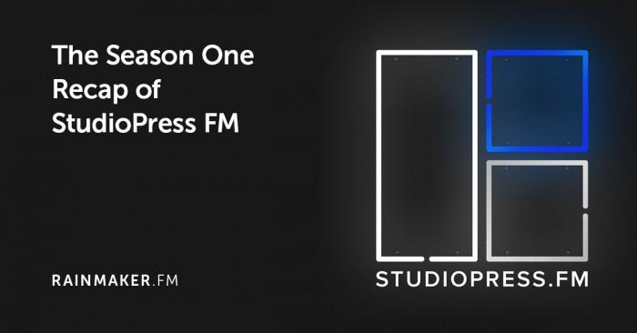 The Season One Recap of StudioPress FM