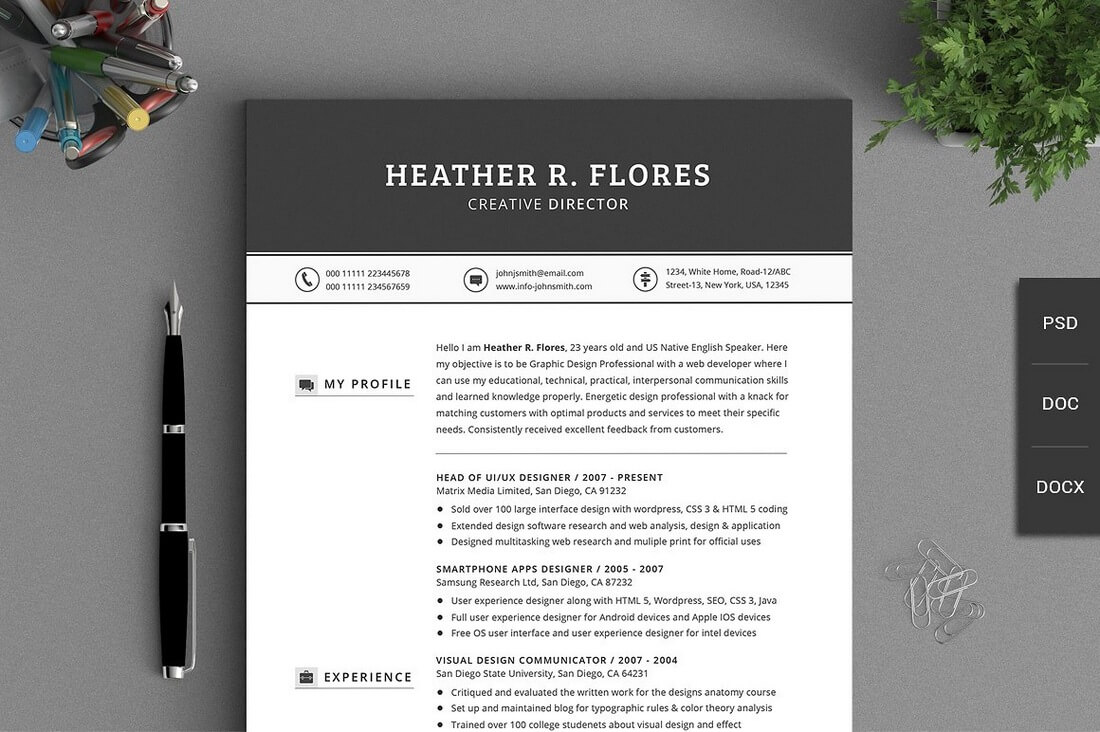 Resume To Cv Pdf The Best Cv  Resume Templates  Examples  Web Emailing Resume Templates Pages with Different Kinds Of Resumes Pdf Another Classical Template That Includes A Massive Pages Of Resume Set  Specially Designed For Creative Professionals It Includes  Icons And  Available  Science Resume Excel