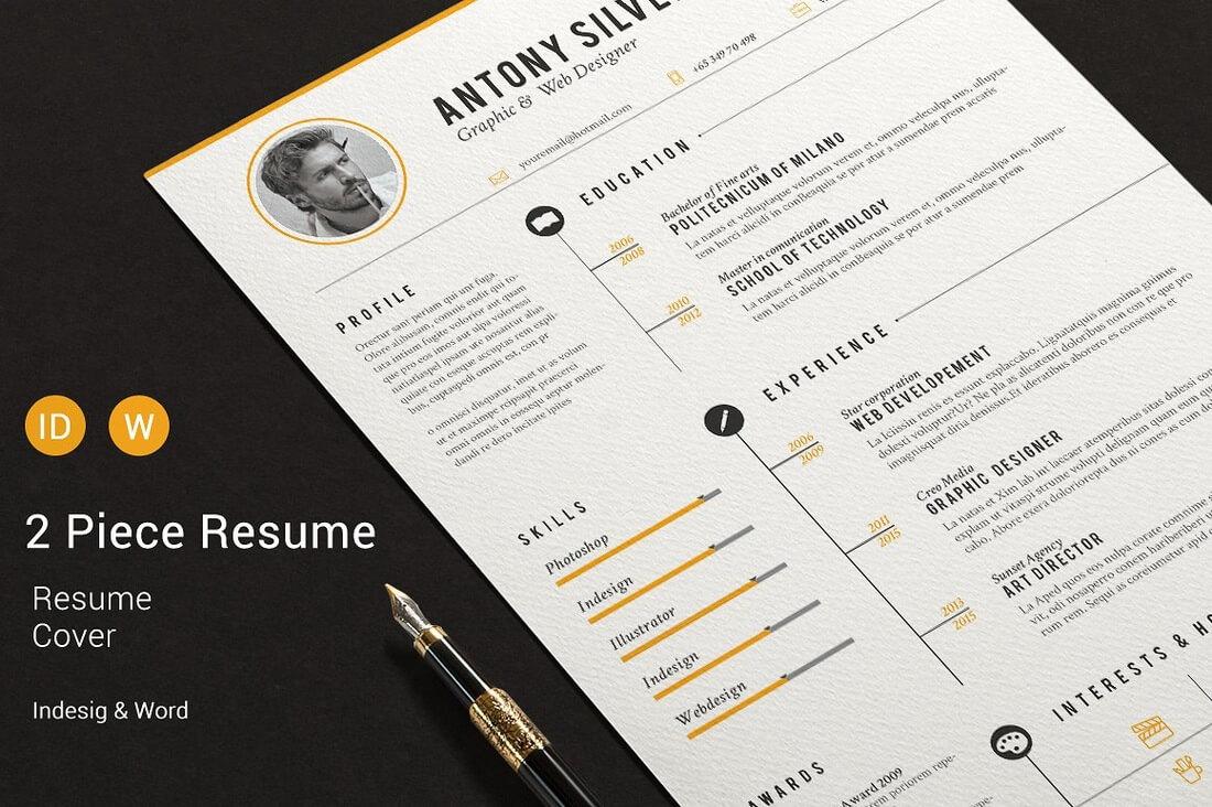 The Best CV u0026 Resume Templates