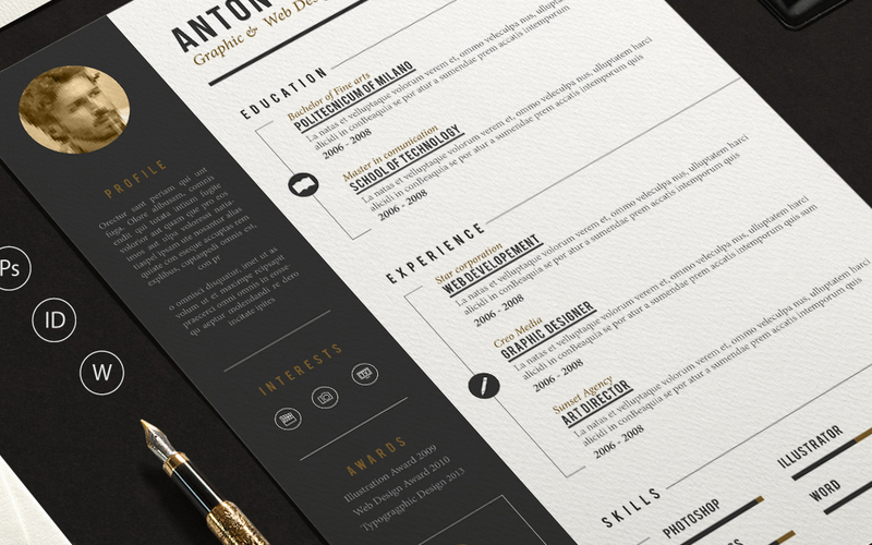 The Best Cv & Resume Templates: 50 Examples… – Web Emailing