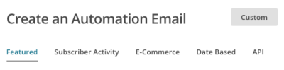MailCHimp campaigns_create_automationoptions