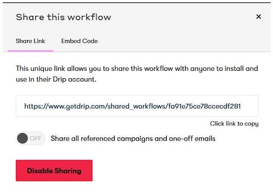 26 workflow sharing