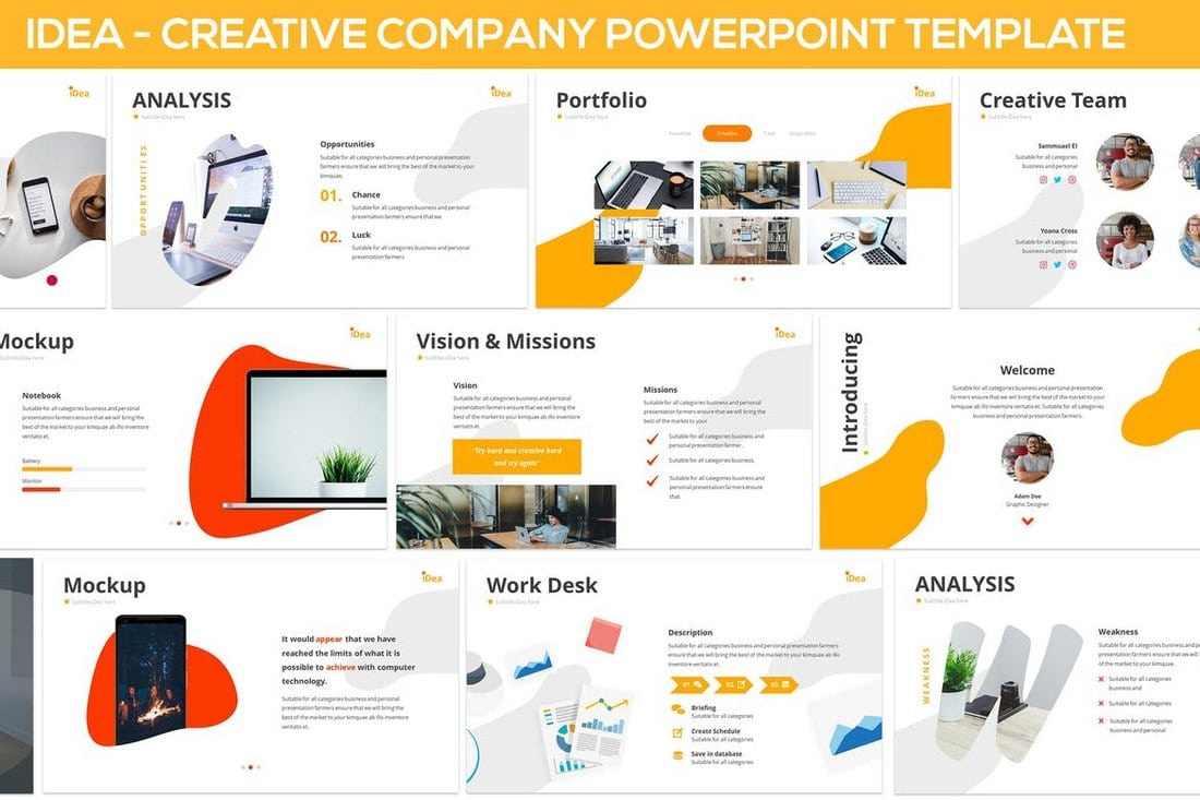 20+ Modern Professional PowerPoint Templates… – Web eMailing
