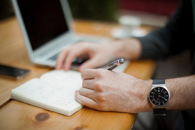 email marketing training making notes