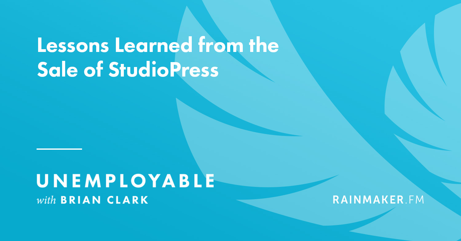 Lessons Learned from the Sale of StudioPress