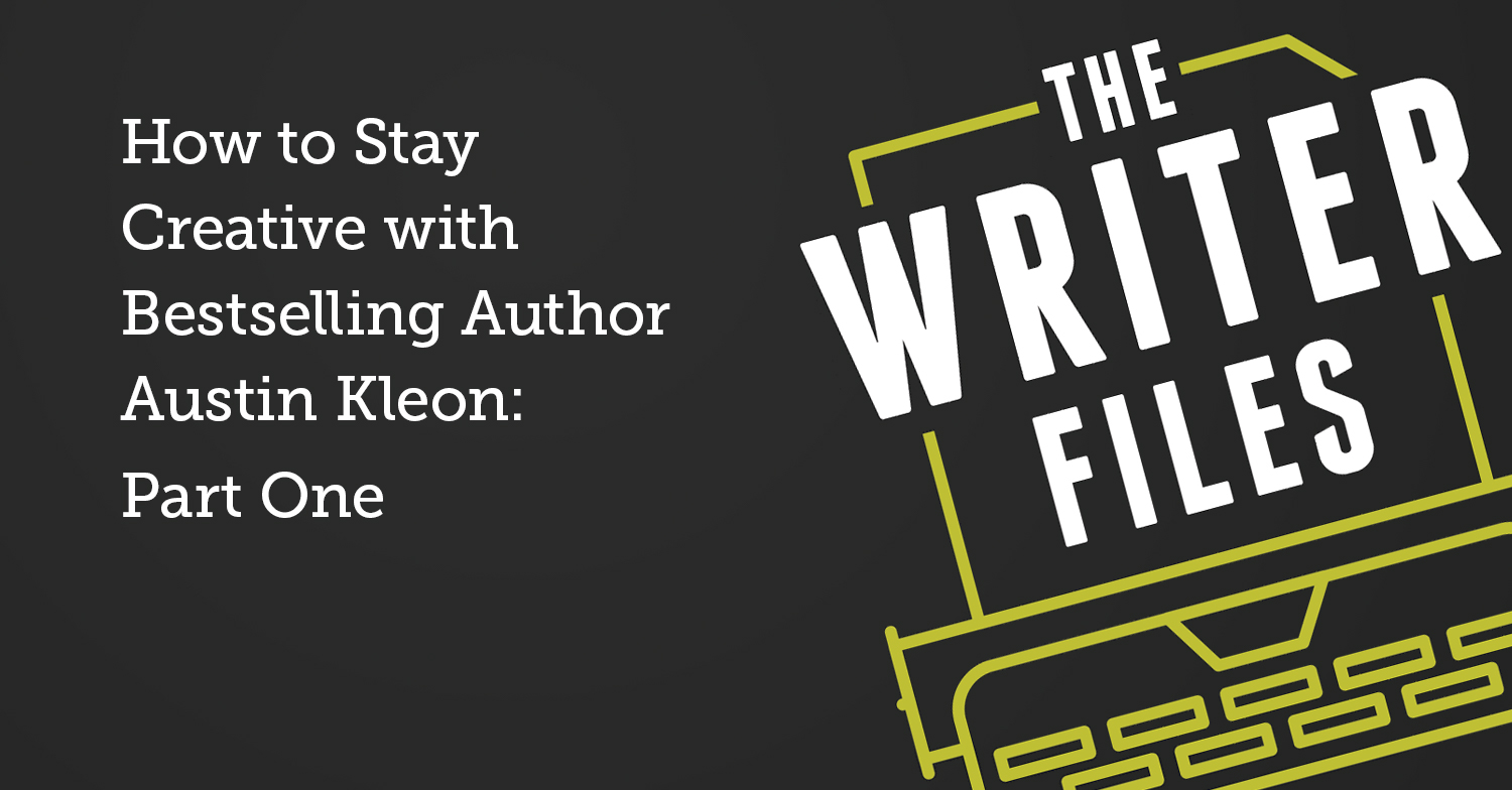 How to Stay Creative with Bestselling Author Austin Kleon: Part One