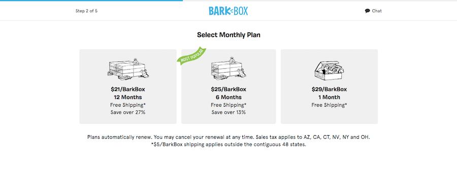 Bark Box Email & Social Media Marketing Offers