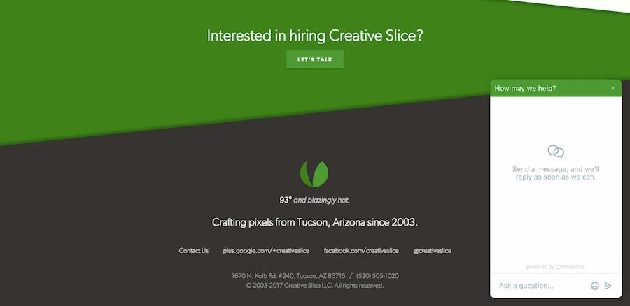 Creative Slice Customer Service & Support