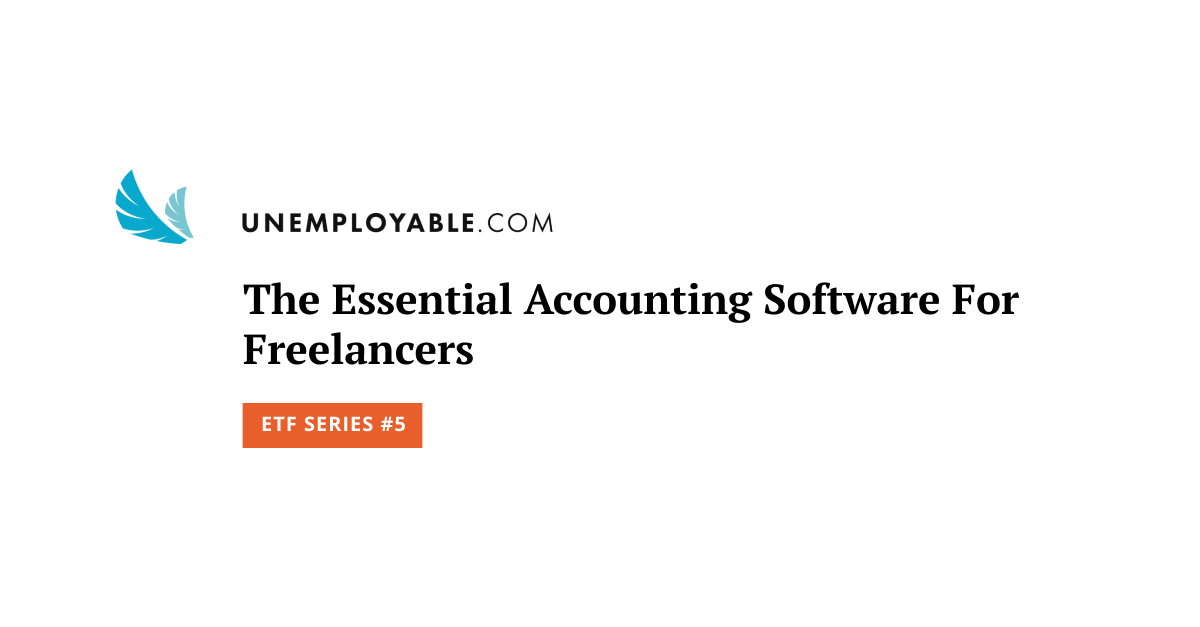 The Essential Accounting Software For Freelancers