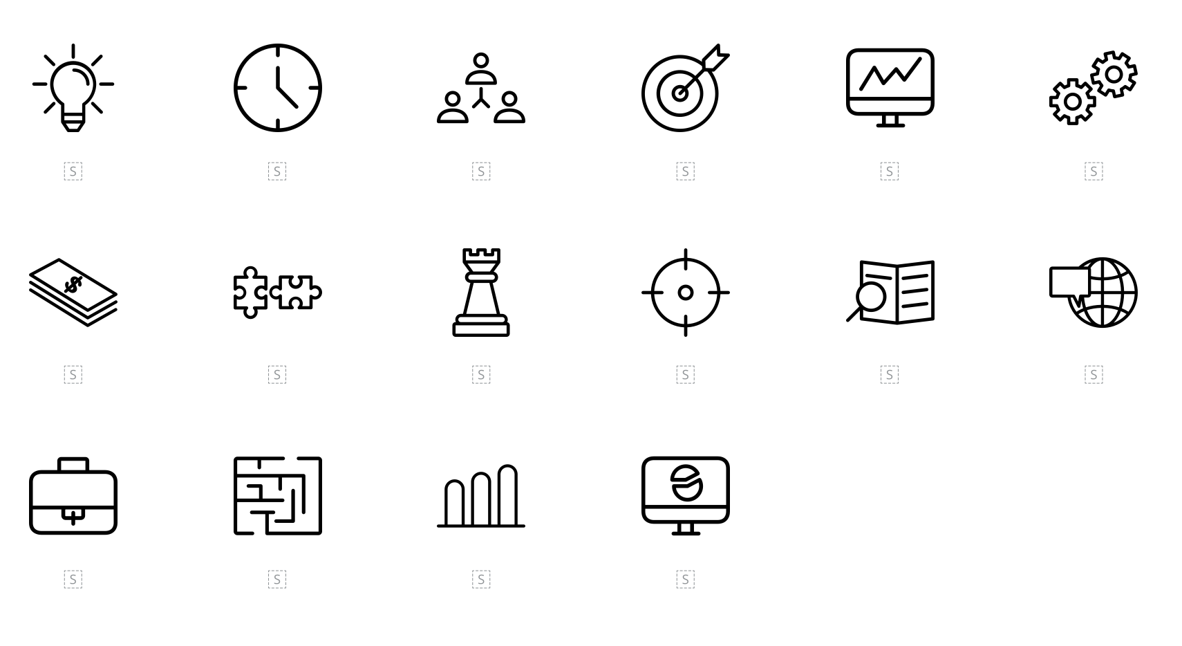A screenshot of free icons from Flaticon