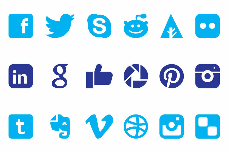 An image of a free Freevector icon set