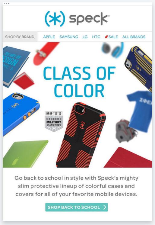 Speck – Captivating Email Design