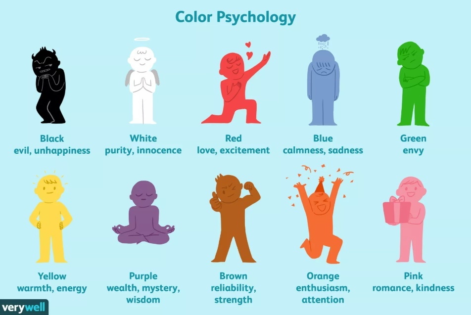 Colors can have a powerful effect on our emotions.