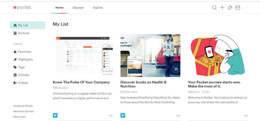 15 Brilliant Productivity Apps - Pocket