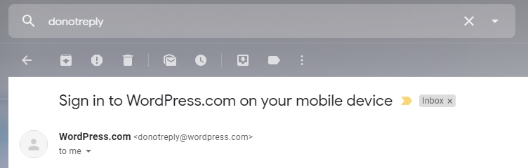 An example of do-not-reply email address.