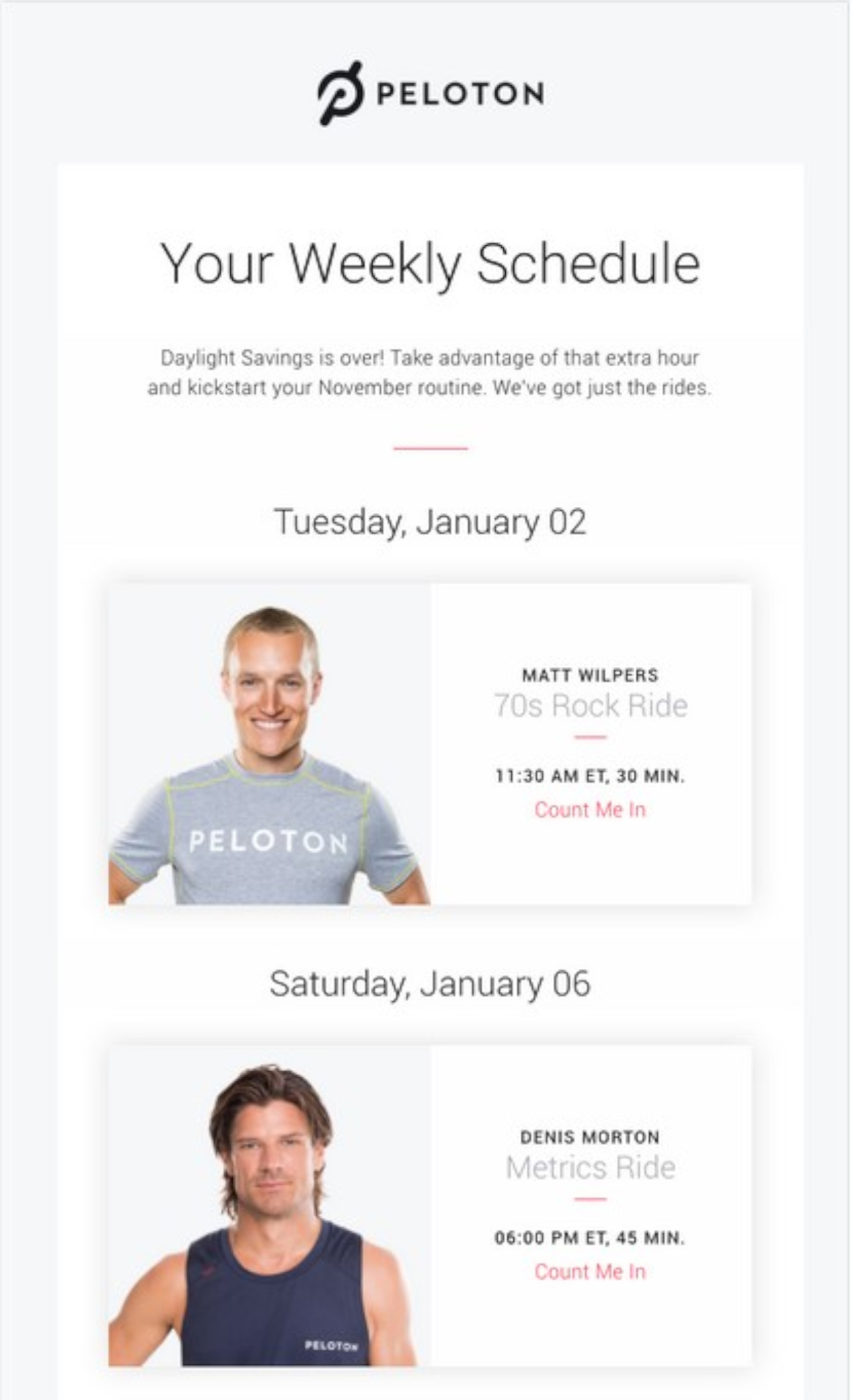 Encourage attendees and subscribers to check out other webinars you host.
