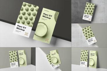 20+ Flyer Mockup Templates (Free & Premium)