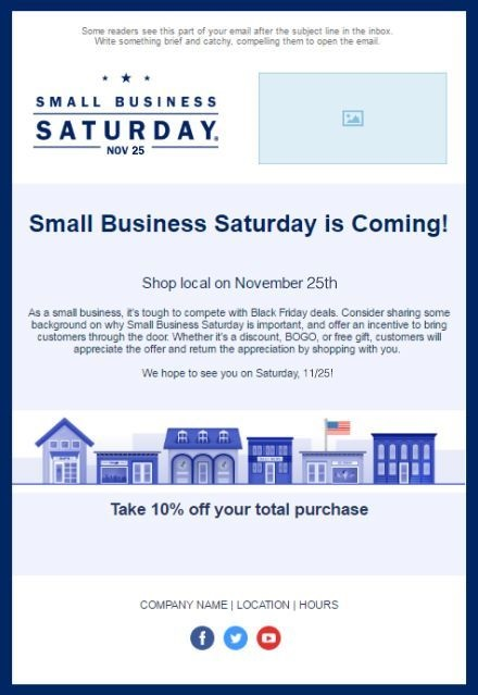 Encouraging readers to shop local isn't only an act of kindness, but also encourages them to pass on word of your small business and shop your online store.