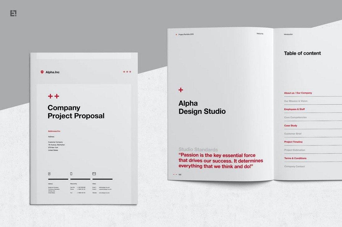 Agency Proposal & Portfolio Word Template