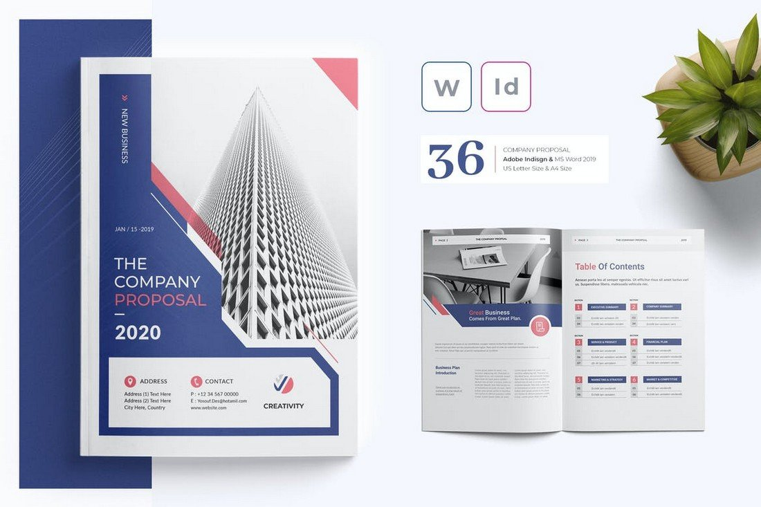 Business Proposal Template for Word