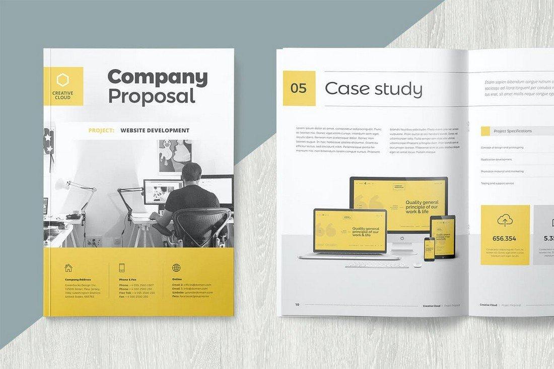 Creative Company Proposal Word Template