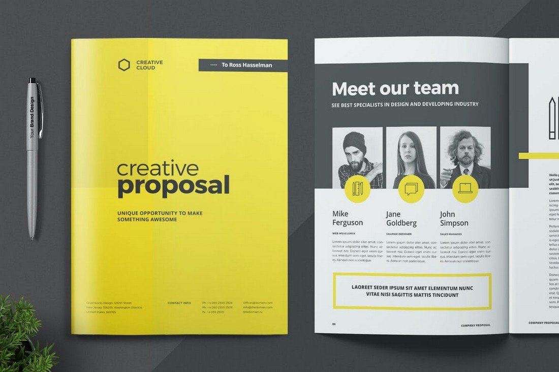 Creative Project Proposal Template for Word