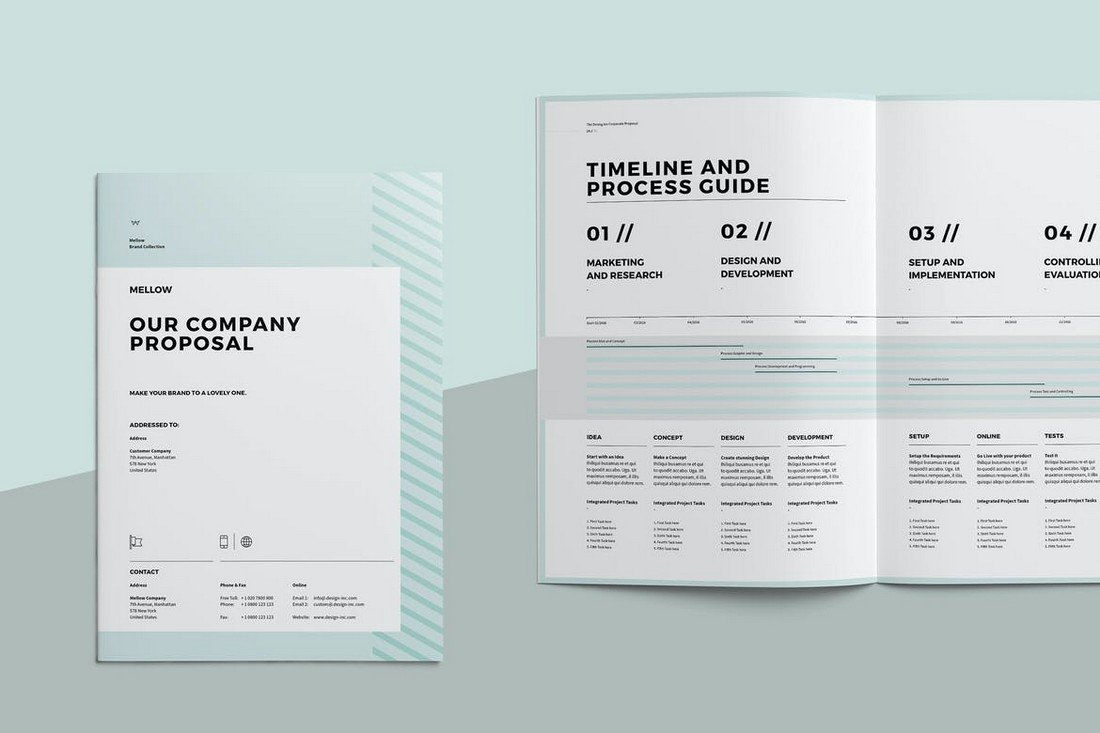 Elegant Business Proposal Template for Word