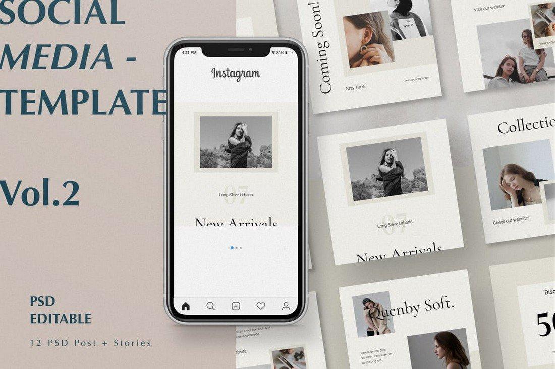 Modern Frames Instagram Post Templates