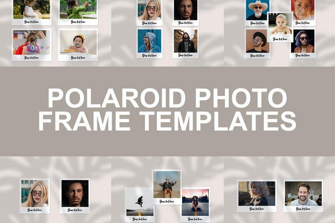 Polaroid Photo Frame Instagram Templates