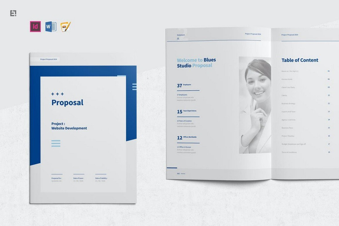 Professional Proposal Brochure Word Template