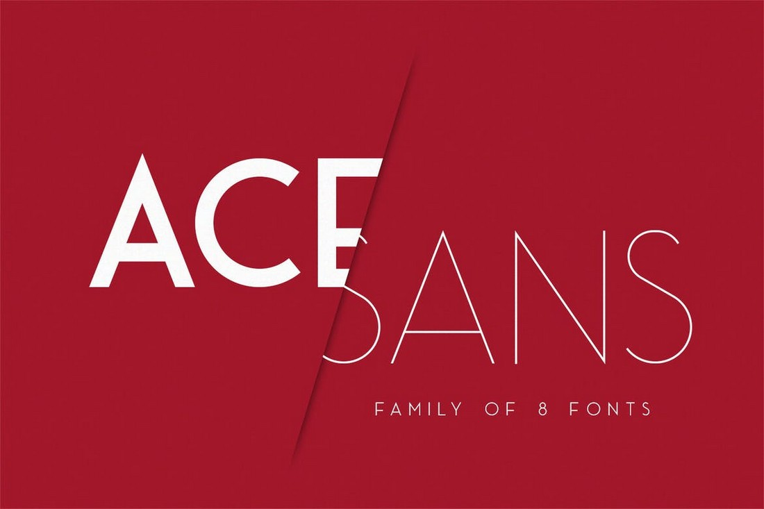 Ace Sans - Professional Minimal Font Family