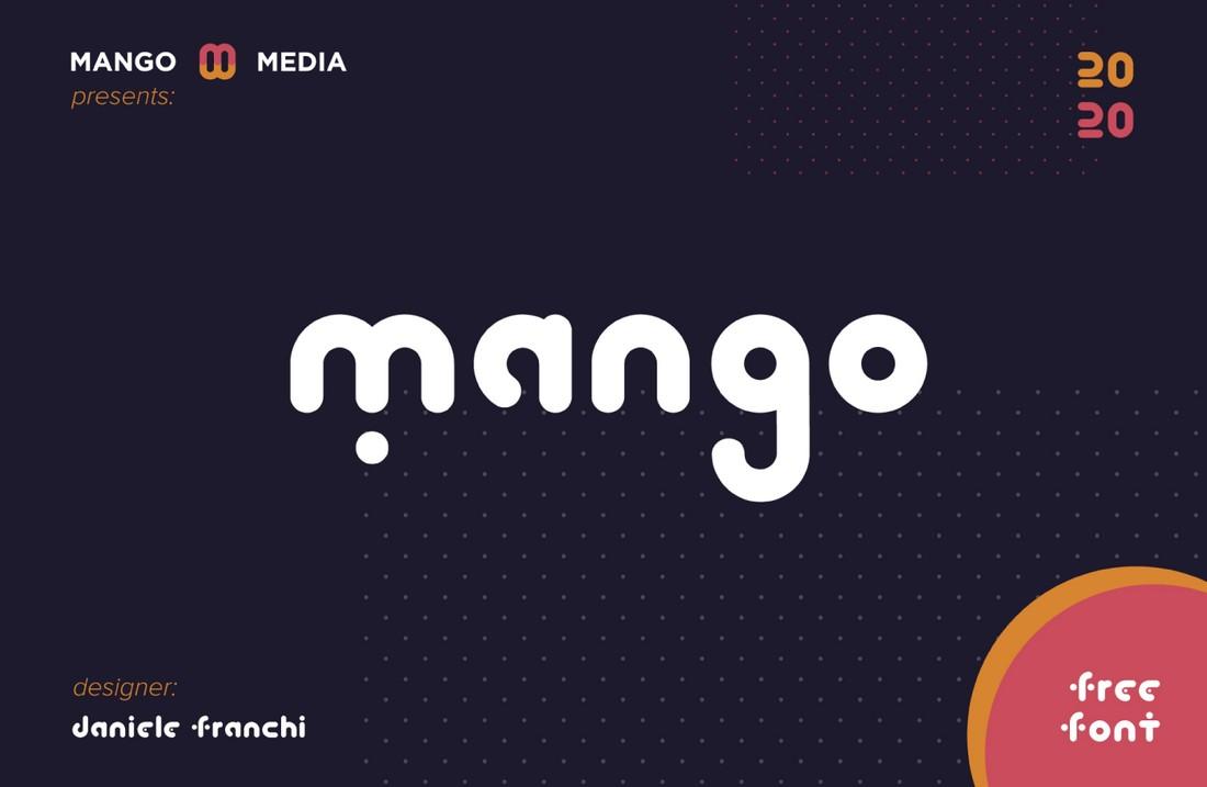 Mango - Free Geometric Minimal Font