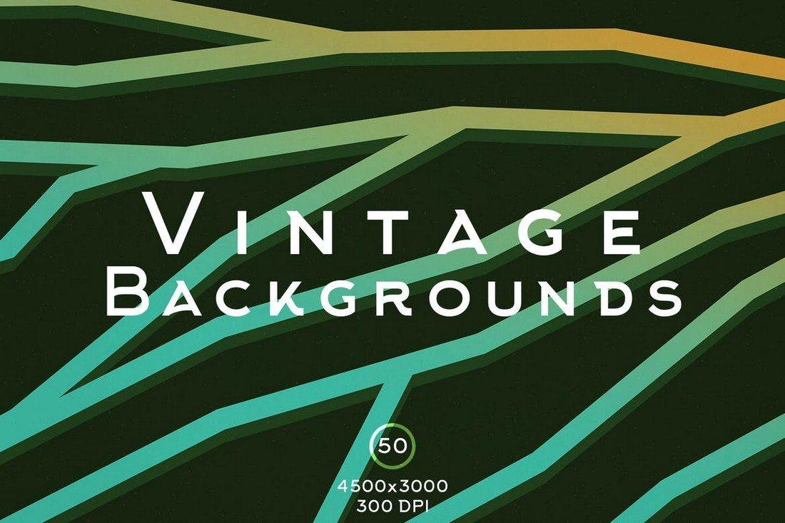 50 Vintage Backgrounds