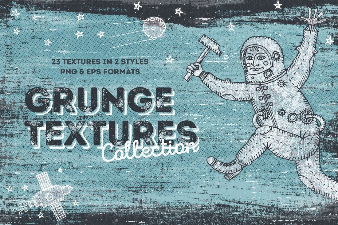 Blackview - Vintage Grunge Textures Collection