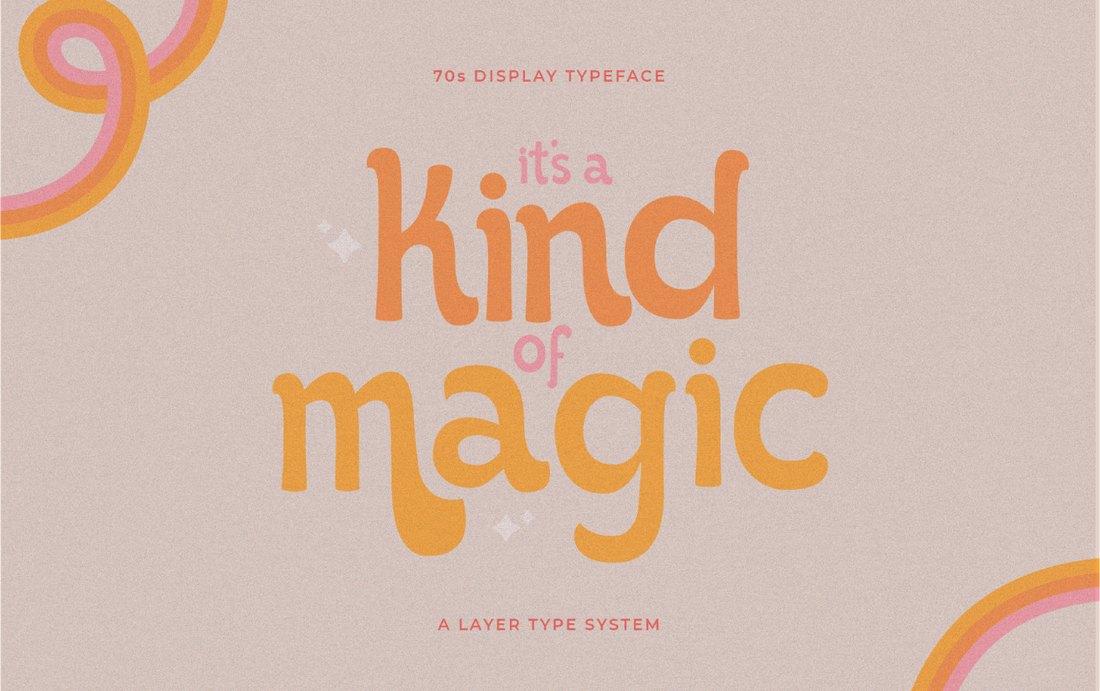 It's Kind of Magic - Free Procreate Font