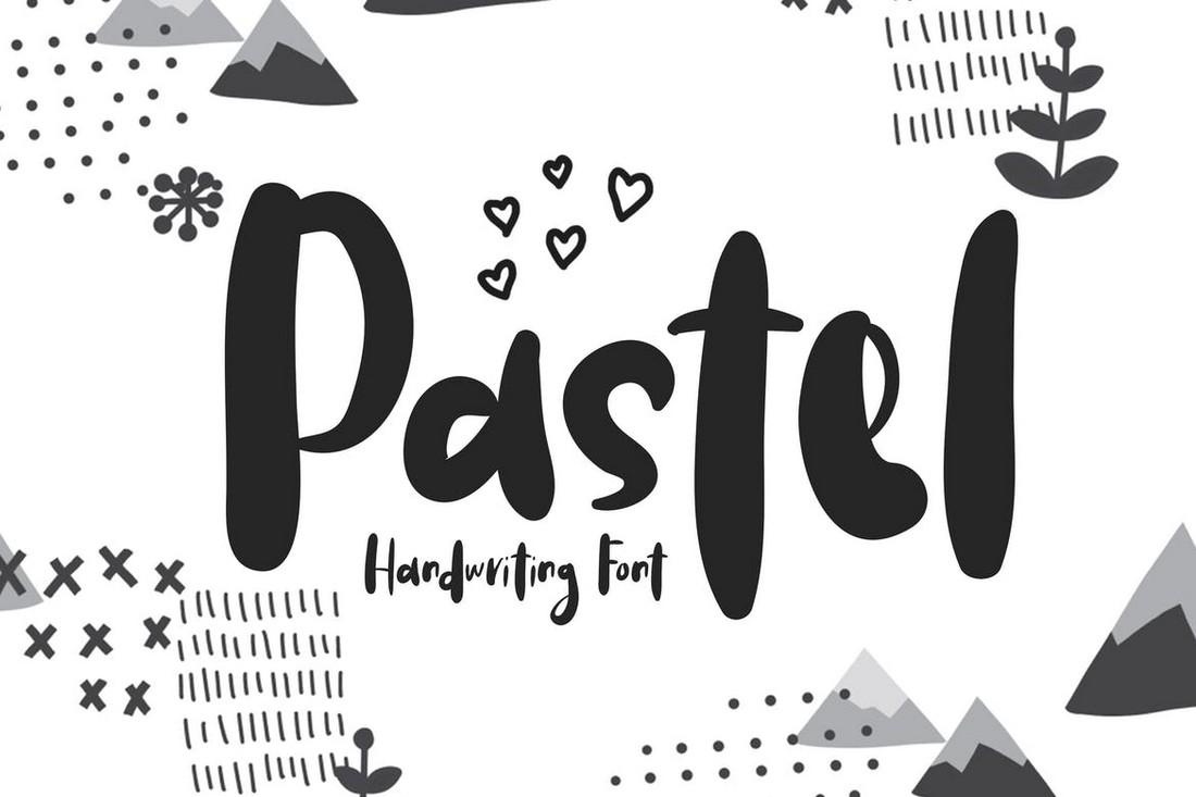 Pastel - Handwriting Procreate Font