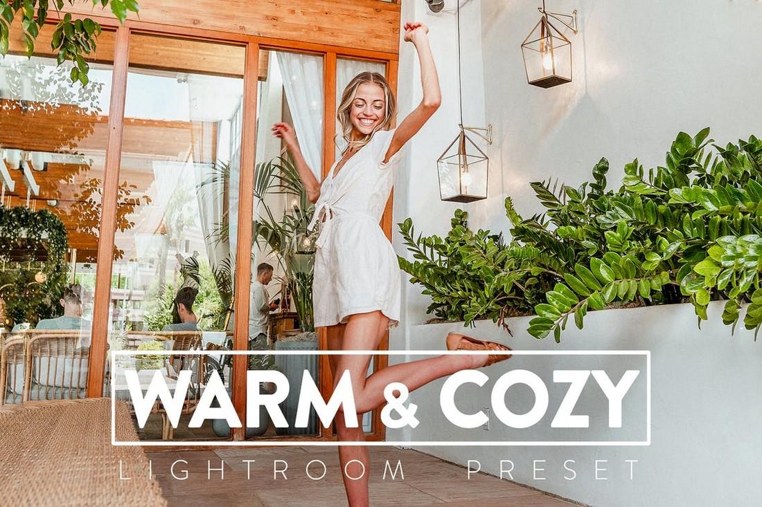 10 Warm and Cozy Lightroom Presets