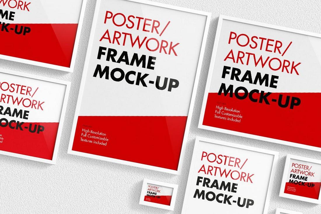 Artwork & Poster Frame Mockup