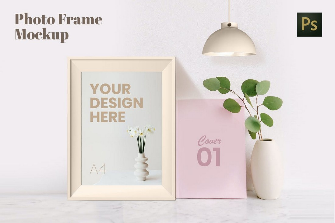 Elegant Photo Frame Mockup