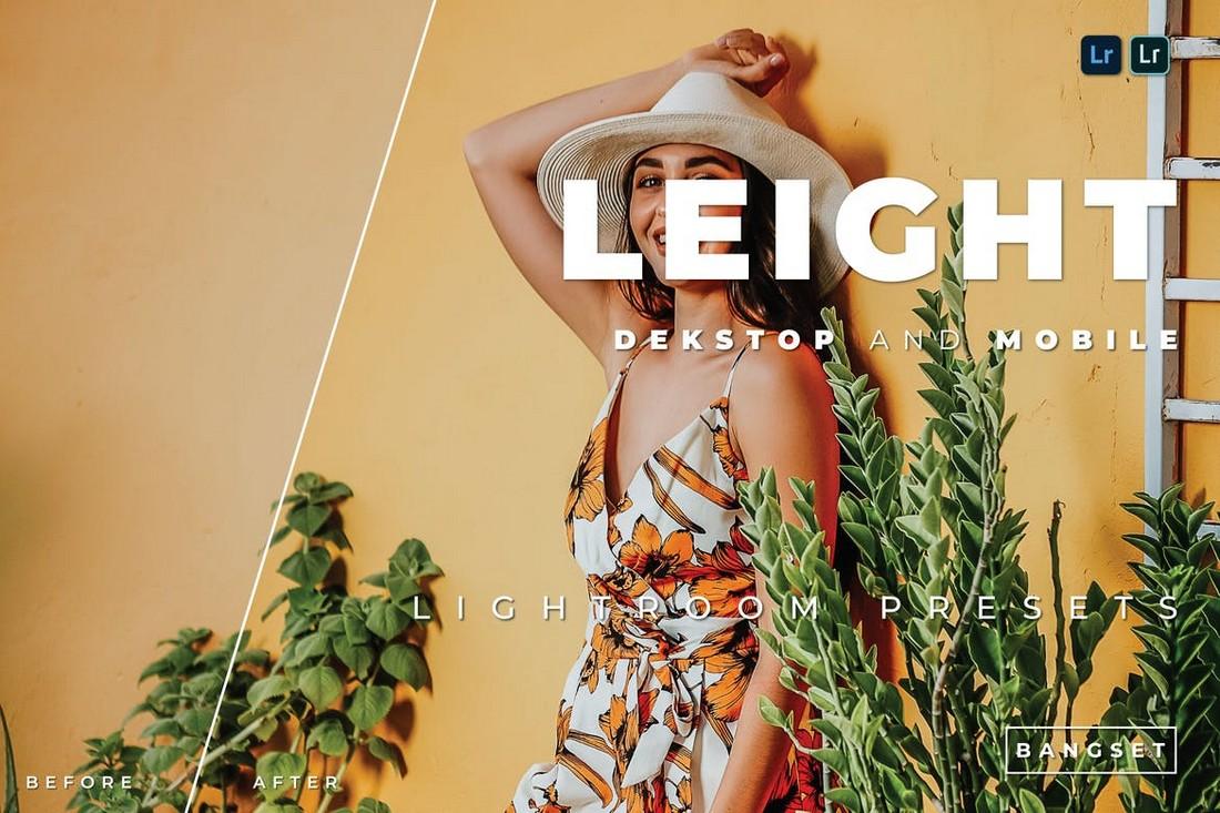 Leight - Desktop and Mobile Lightroom Presets