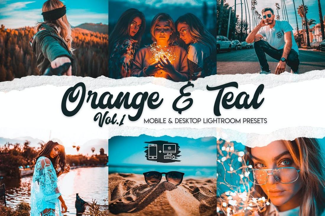 Orange & Teal Lightroom Presets