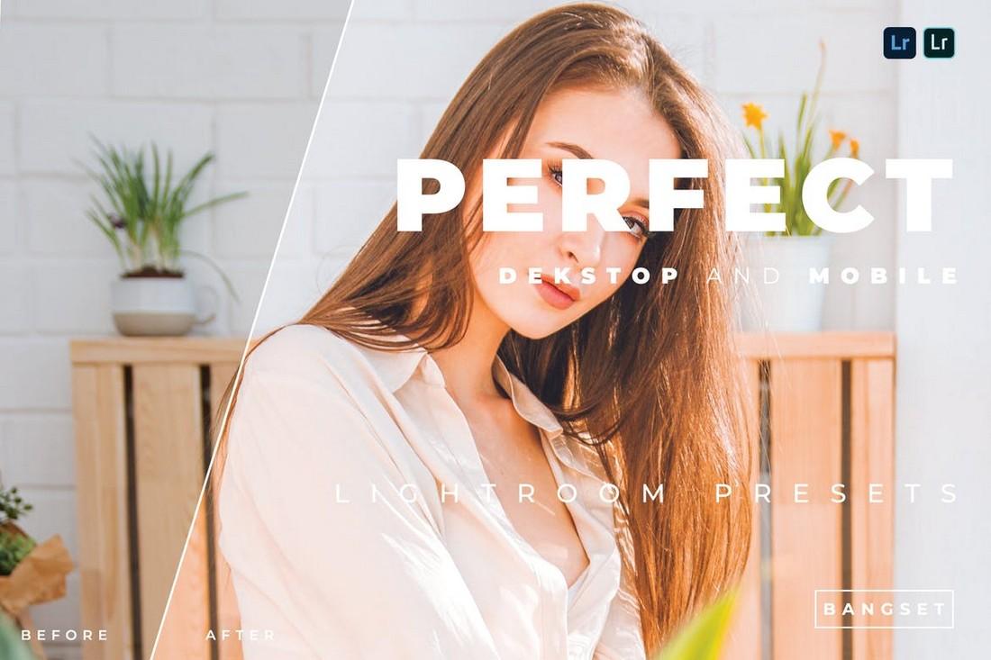 Perfect - Desktop and Mobile Lightroom Presets