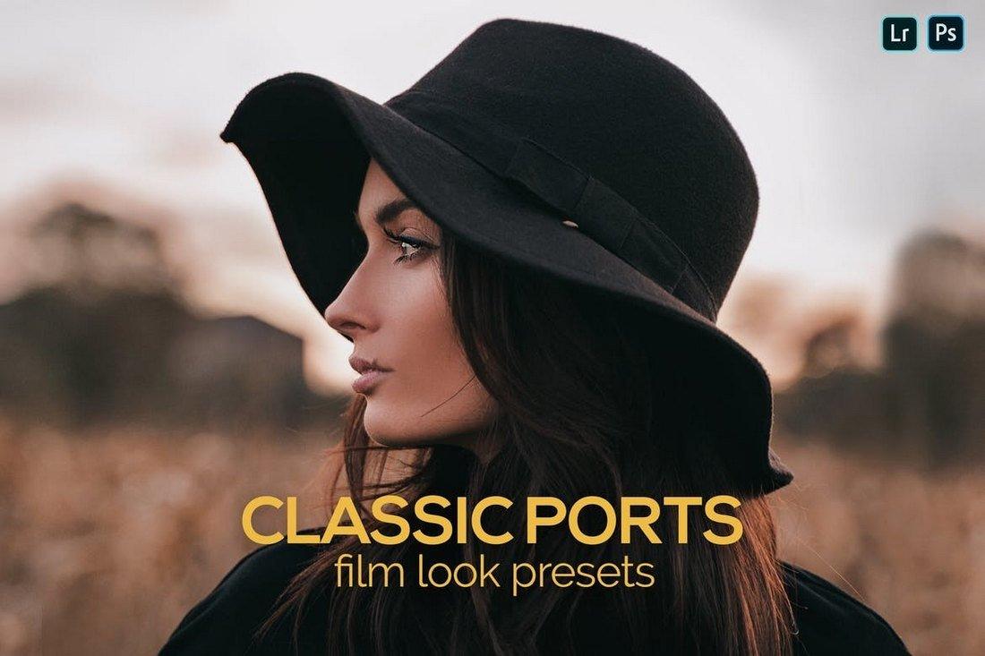 8 Classic Ports Film Look Presets