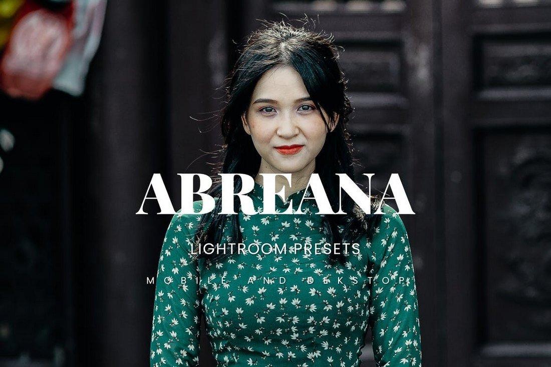 Abreana - Lightroom Presets Dekstop & Mobile