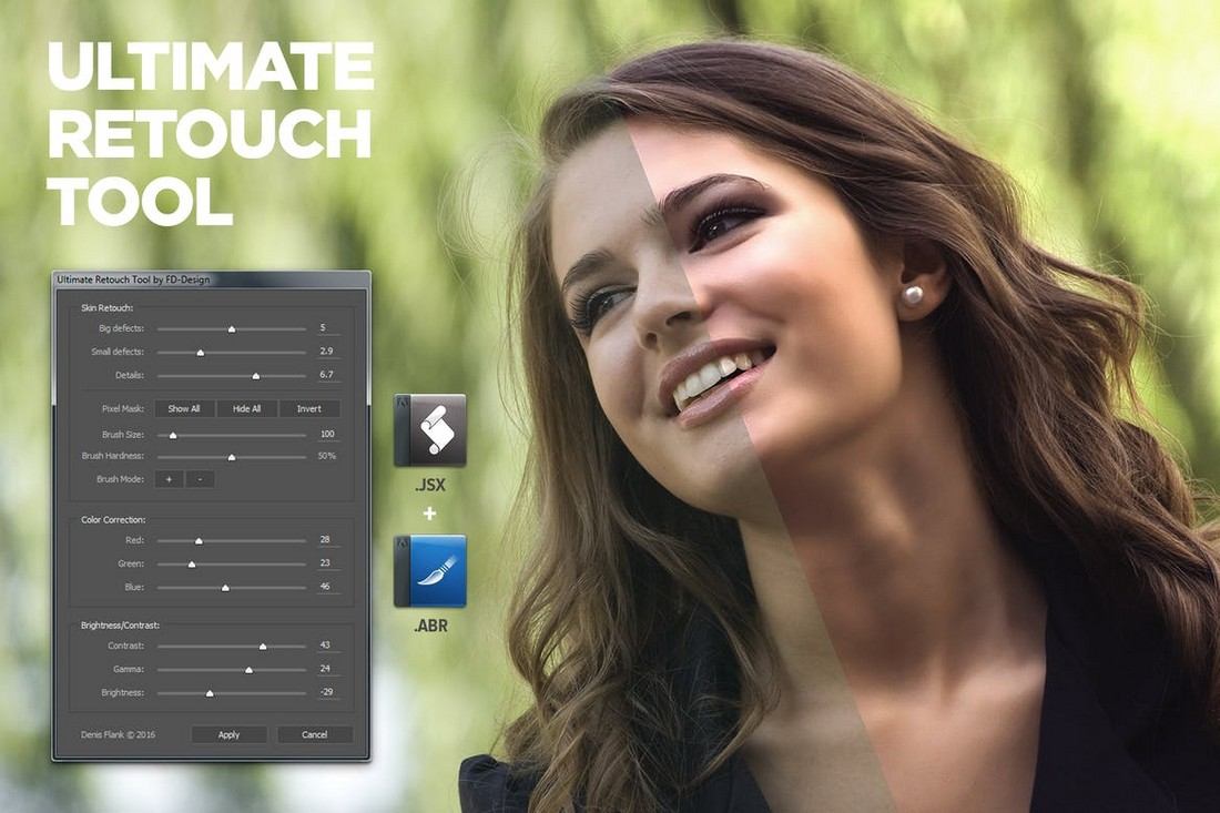 Ultimate Retouch Tool for Photoshop