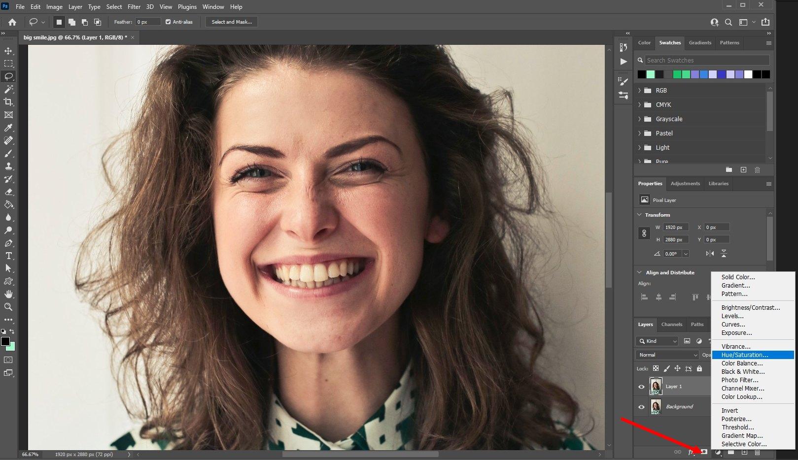 how to whiten teeth photoshop - 3