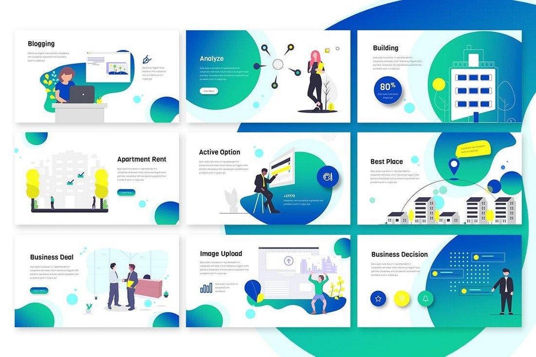 powerpoint illustrations