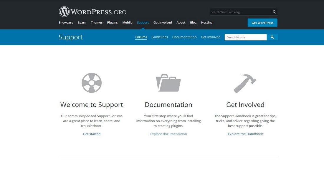 wordrpess forums
