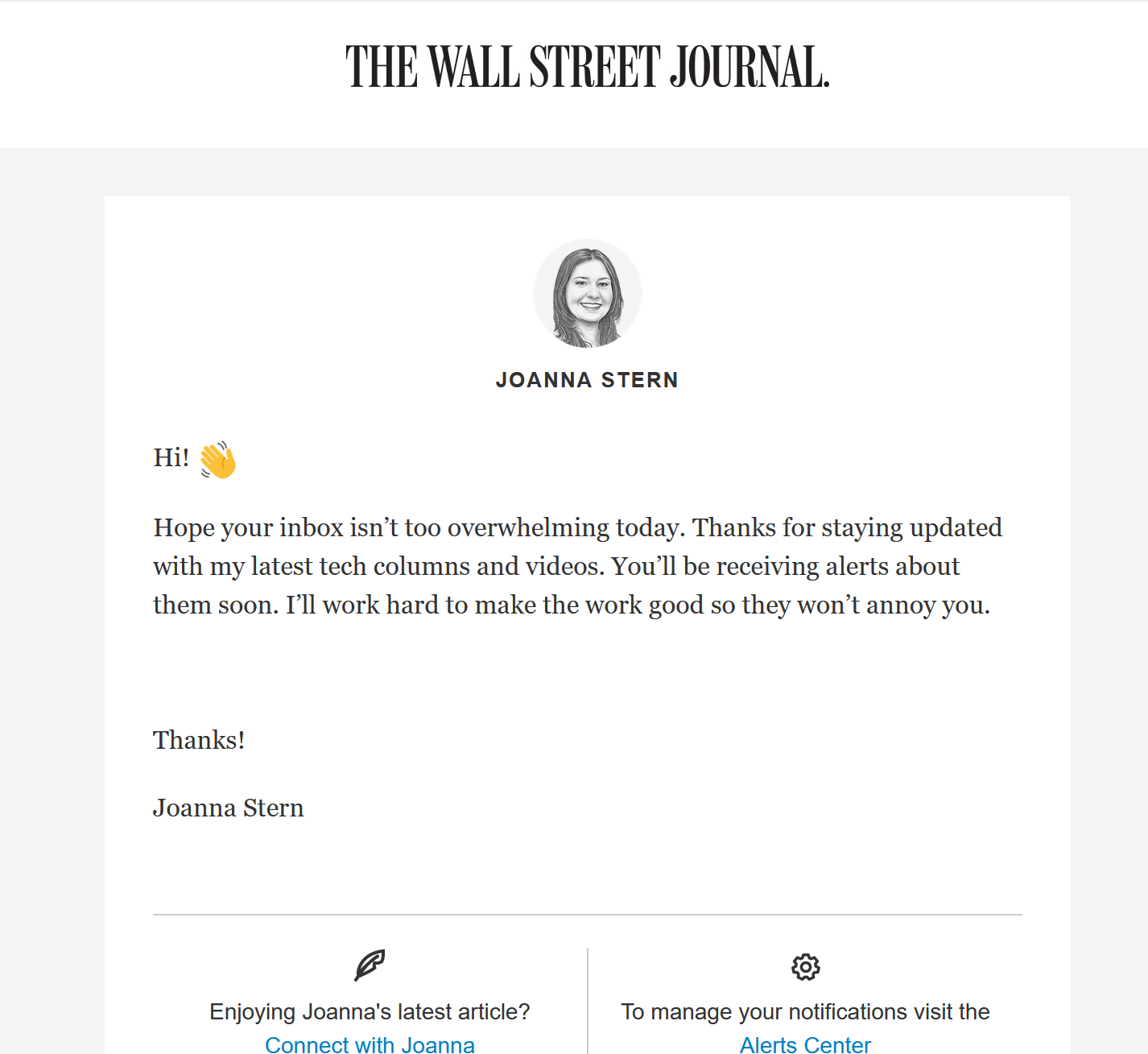 wsj-email-example